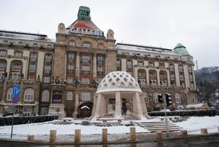 Budapešť - Hotel a lázně Gellért